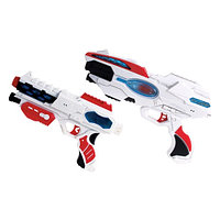 Игровой набор Звездного оружия из 2 бластеров