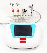Аппарат RF лифтинга, алмазной дермабразии, спреер, микротоки GLAG4in1