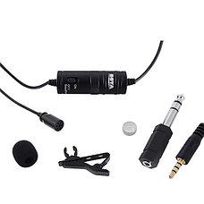 Петличный микрофон BOYA BY-M1 (штекер MiniJack 3,5 mm), фото 2