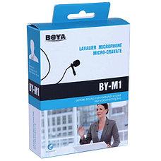 Петличный микрофон BOYA BY-M1 (штекер MiniJack 3,5 mm), фото 3