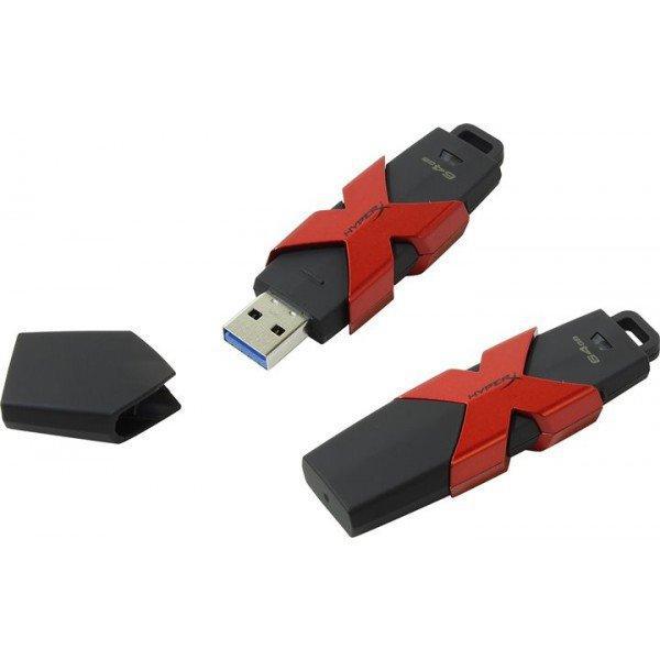 USB Флеш 256GB 3.1 Kingston HXS3/256GB металл