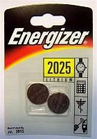 Элемент питания Energizer CR2025 -2 штуки в блистере.