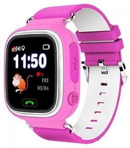 Умные часы детские Smart baby watch Q90 (Розовый)