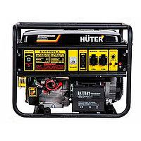 Электрогенератор HUTER 6500LX DY + электростартер с пультом
