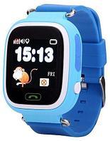 Умные часы детские Smart baby watch Q90 (Голубой)