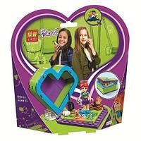 Конструктор LARI Friends в шкатулке-сердечко для девочек (Katherine)