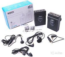 Беспроводной поясной микрофон BOYA BY-WM5 с петличным микрофоном, фото 3