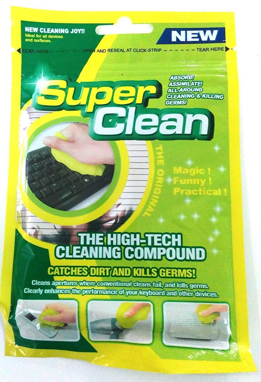 Гель для чистки клавиатуры Super Clean