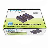 Удлинитель VGA по витой паре до 100м - VGA extender