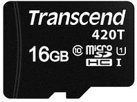 Карта памяти MicroSD 16GB Transcend TS16GUSD420T