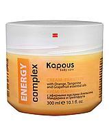 Крем-парафин 300мл с эфирными маслами Апельсина, Мандарина и Грейпфрута ENERGY complex Kapous