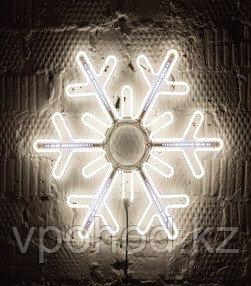 Светодиодная LED снежинка 76 см