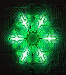Светодиодная LED снежинка 76 см, фото 4
