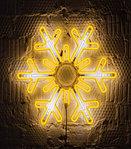 Светодиодная LED снежинка 76 см, фото 5