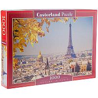 """Пазл 1000 эл. Castorlаnd """"Осень в Париже"""", картонная коробка"""