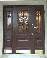 Дверь стальная с фальшбортами