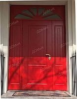 Дверь входная со стеклом