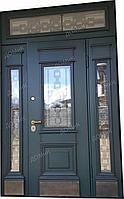 Дверь входная с решеткой