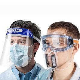 Защитные щитки и очки для лица