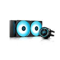 Кулер с водяным охлаждением, Deepcool, GAMMAXX L240T  DP-H12RF-GL240TB, Intel 2011/1366/1200/115х и AMD A