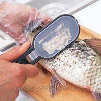 Нож для рыбной чешуи( рыбочистка), фото 5