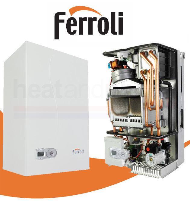 Настенный газовый котел Ferolli Fortuna F40 на 400 м2
