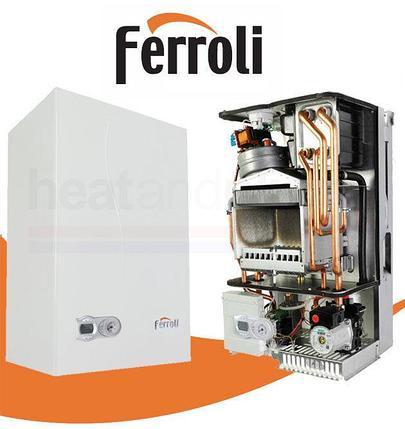 Настенный газовый котел Ferroli Fortuna F18 на 180 м2, фото 2