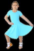 Платье рейтинговое АККУ Цвет Голубой Размер 30 Материал Полиамид