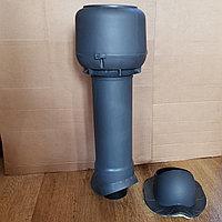 Вентиляционный выход ТР-86.110/160/700 утепленный для Монтеррей, Серый, фото 1
