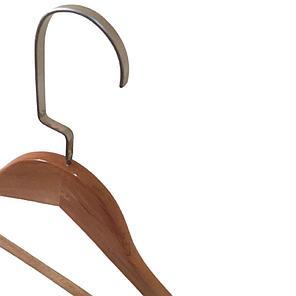 Плечики деревянные L-07 (светлый), фото 2