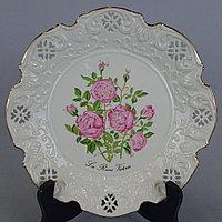 «Розы королевы Виктории» Мануфактура Crown Davenport