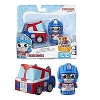 """Hasbro Transformers Игровой набор трансформеров робот и машинка """"Оптимус Прайм"""""""