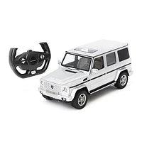 Радиоуправляемая машина RASTAR 1:14 Mercedes-Benz G55 AMG Geländewagen 30400S, Серебристый