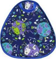 """Ледянка детская мягкая Деми """"ЛДМ.04"""", синяя, Размер 350*350 толщина 12 мм , материал оксфорд/тент"""