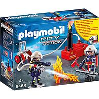 Playmobil Пожарная служба: Пожарные с водяным насосом