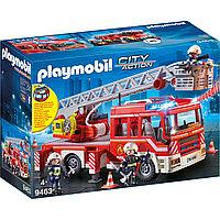 Playmobil Пожарная служба: пожарная машина с лестницей