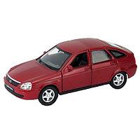 Welly Модель машины 1:34-39 LADA PRIORA - красная
