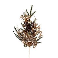 Edelman: Веточка еловая с золотыми ягодами (длина 73 см)
