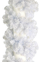 Triumph Tree: Гирлянда еловая Icelandic/Исландия белая (длина 2,7 м, 210 веток)