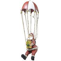 Kaemingk: Декорация Дед Мороз на парашюте 49 см