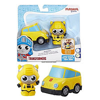 """Hasbro Transformers Игровой набор трансформеров робот и машинка """"Бамблби"""""""