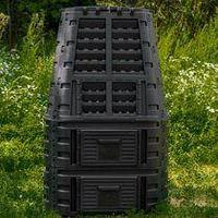 Компостер Super Composter 3 с 2 увеличителями (89х89х14,6см, 880л)