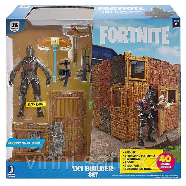 Fortnite Игровой набор - фигурка Black Knight с аксессуарами - фото 3