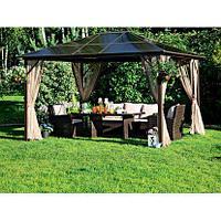 Павильон садовый Casais с москитными сетками 300х365х258 см