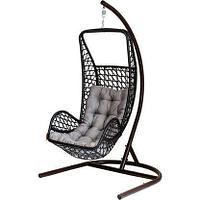 Кресло подвесное Лилия искуственный ротанг 90х90х200 см