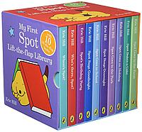 SPOT 10 COPY BOARD BOOK SLIPCASE (10 FLIP-FLAP BOOKS)