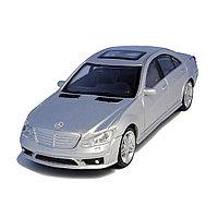 Металлическая машинка RASTAR 37100S 1:43 Mercedes-Benz S 63 AMG, 11,5 см , Серебристая