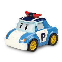 Поли полицеский металлическая машинка 6см, Poli Robocar