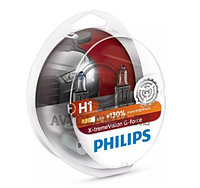12258XVGB1 H1 Philips X-TremeVision G-force Штатная галогеновая лампа