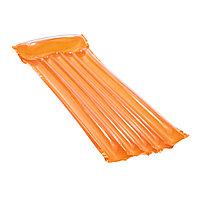 Пляжный матрас для плавания Deluxe Comfort BESTWAY: 44013, 183 х76 см, оранжевый